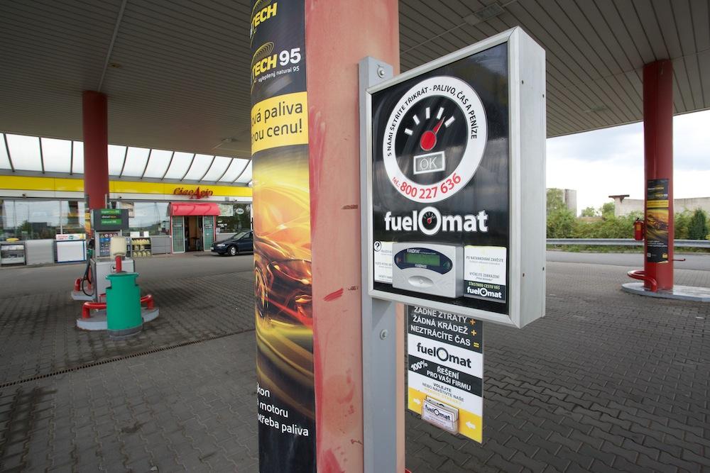 Bezoblužný systém FuelOmat na veřejných čerpacích stanicích