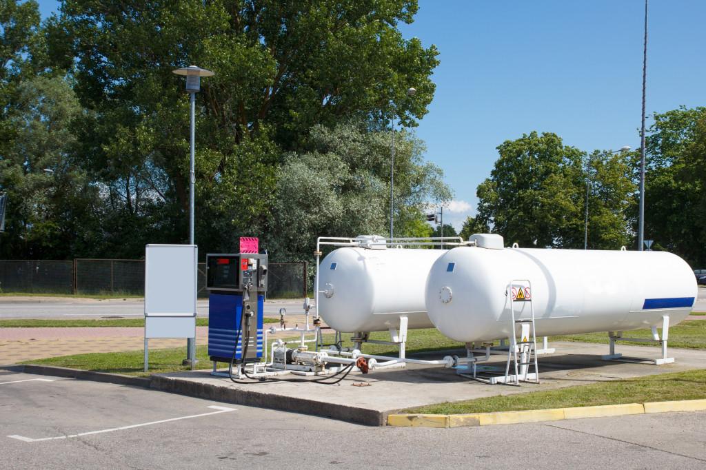 Systém FuelOmat je díky svému zabezpečení vhodný i pro firemní čerpací stanice